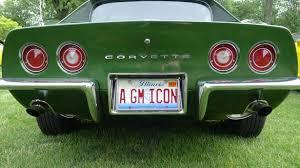 Front Vanity Plates License Plate Archives Corvette Sales News U0026 Lifestyle