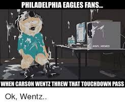 Philadelphia Eagle Memes - philadelphia eagles fans memes when carson wentz threw that