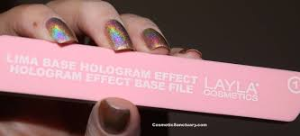 layla hologram effect nail polish swatches and review cosmetic