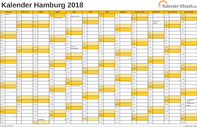 Kalender 2018 Hamburg Feiertage Feiertage 2018 Hamburg Kalender