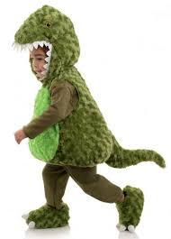 Toddler Dinosaur Costume Toddler Child Plush Green T Rex Belly Babies Costume Candy Apple