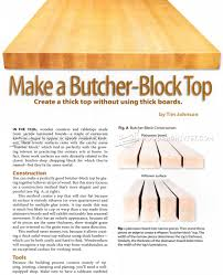 diy butchers block top woodarchivist diy butchers block top