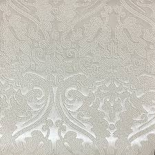 ivory upholstery fabric lyon embossed damask pattern vinyl upholstery fabric by the yard