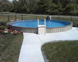 semi inground pool installation ottawa semi inground pool kits