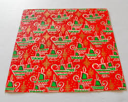 retro wrapping paper vintage christmas wrapping paper vintage candles 60s gift wrap