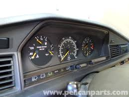 mercedes benz 190e speedometer cable replacement w201 1987 1993
