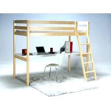 lit surélevé avec bureau lit mezzanine avec bureau lit mezzanie enfant lit mezzanine