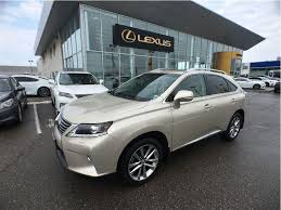 lexus suv for sale used used 2015 lexus rx 350 sportdesign for sale in brampton ontario