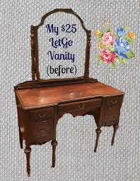 Victorian Vanity Table Antique Vanity Makeover So Very Merry