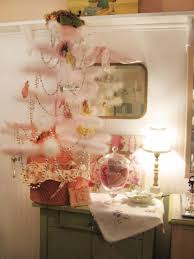 white feather christmas tree christmas lights decoration