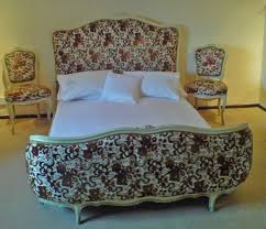 French Bed Frames For Sale A3 Very Nice Antique Bedroom Set Upholstered Demi Corbeille
