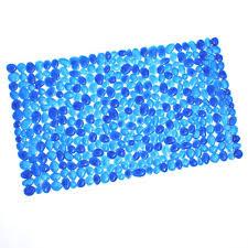 Bathtub Bubble Mat Slipx Solutions 17 In X 30 In Burst Of Bubbles Bath Mat In Black