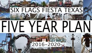 Coupons For 6 Flags Six Flags Fiesta Texas 5 Year Plan 2016 2020 Youtube