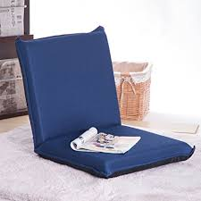 Blue Floor L Merax Multi Function Folding Floor Cushion Chair Sofa