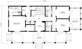 floor plans for 4 bedroom houses simple rectangular house plan amazing chic 3 simple rectangular 4