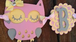bird baby shower pink yellow gray bird baby shower banner