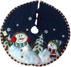 concepts ltd 48 snowman tree skirt w colour