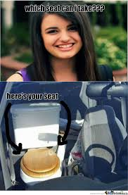 Rebecca Black Memes - rebecca black seat by leonaxe meme center