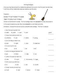 all worksheets analogies worksheets printable worksheets guide
