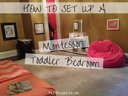 how to set up a montessori toddler bedroom u2013 momtessori life