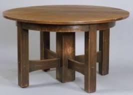 Stickley Dining Room Furniture Gustav Stickley Pedestal Dining Table Parts Tags Stickley Dining