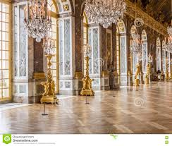 Palace Of Versailles Floor Plan Hall Of Mirrors At The Palace Of Versailles Editorial Photography