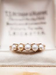 the pearls wedding band best 25 pearl rings ideas on pretty rings pearl ring