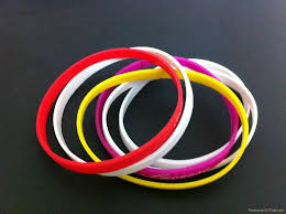 rubber wristband bracelet images Wholesale 5mm wide thin silicone fashion wristbands rubber jpg