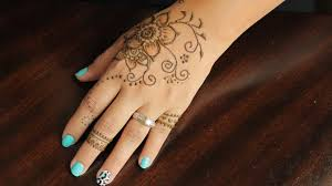 beautiful u0026 easy henna tattoo tutorial 4 youtube