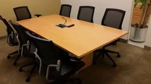 Teknion Conference Table Used Teknion Conference Table 7x3 7 Used Office Furniture