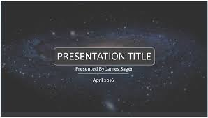 Free Space Powerpoint Template 7879 Sagefox Powerpoint Templates Powerpoint Theme