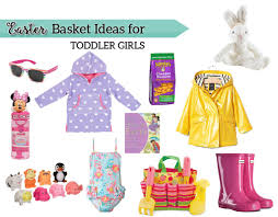 ideas for easter baskets for toddlers easter basket ideas for toddler