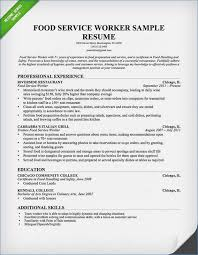 waitress resume exle food service responsibilities resume buildbuzz info