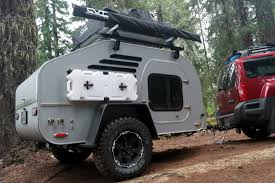 military trailer camper terradrop off road capable overland inspired teardrop trailer