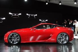lexus lf lc red toyota hints to build the lexus lf lc concept pakwheels blog