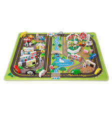 deluxe road rug play set melissa and doug