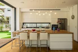 cuisine architecture hover house in neve monoson by daniel arev architectural studio