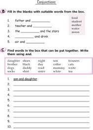 grade 3 grammar lesson 15 conjunctions 4 grade 3 grammar