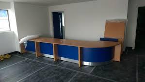 Bespoke Reception Desk Ofcc Reception Desks Office Furniture Supplier In Siddal