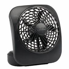 battery powered extractor fan 5 inch small fan portable battery powered home office cool compact