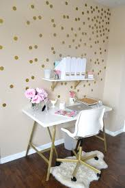 home decor part two my mini office home decor office white and gold home office gold home office decor girly workspace
