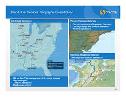 Parana River Map Form 8 K Seacor Holdings Inc New For Dec 12