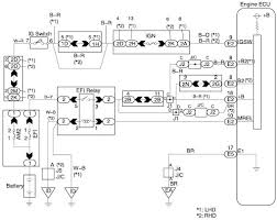 is200 ecu efi power source circuit and wiring diagram