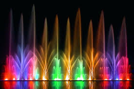 water fountain with lights water fountain with light water fountains with lights dancing water