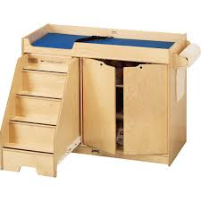Changing Table Safety Changing Table With Stairs Left Side Stairs