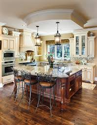 Kitchen Islands With Cabinets Black Island Cream Cabinets Cream Colored Kitchen Cabinets Dark