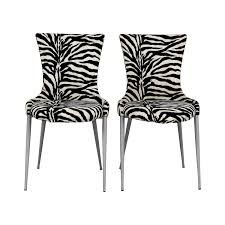 Zebra Dining Chairs 88 European Furniture Company European Furniture Company