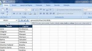 tutorial para usar vlookup video aula de excel em português função procv vlookup hd