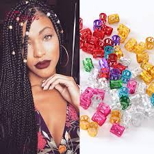 hair rings buy images 2018 wholesale hair beads braids dreadlock beads adjustable cuff jpg