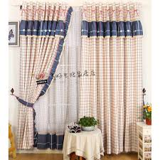 Country Curtains Rustic Plaid Pattern Navy And Country Curtains